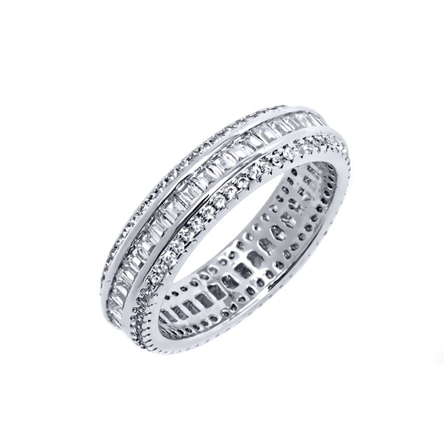 Gold Plated Eternity Ring