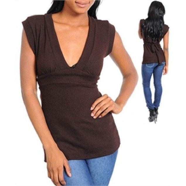 Fashion Tops New! Available in Pink, Brown, Gray