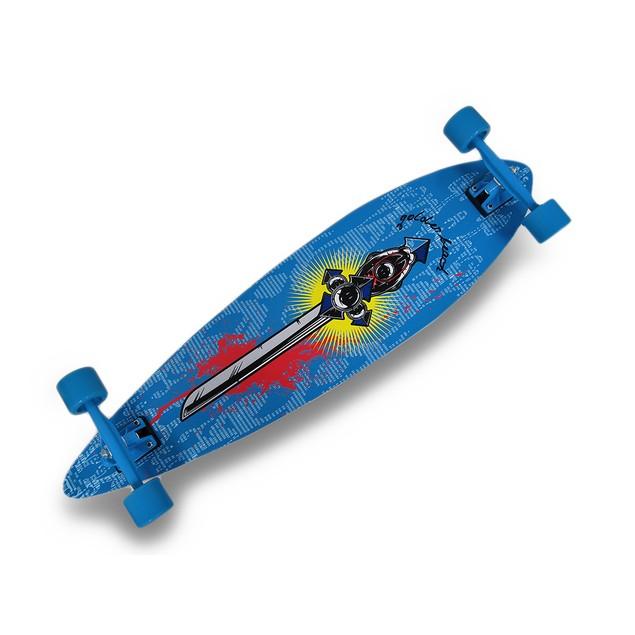 39 Inch Complete Pintail Longboard Cruiser Standard Skateboards