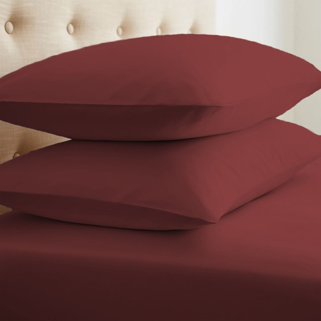 2-Pack Merit Linens Ultra Soft Pillow Case Set