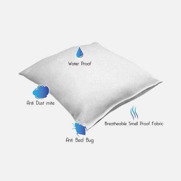 Remedy Bed Bug + Mite Pillow Protector - King