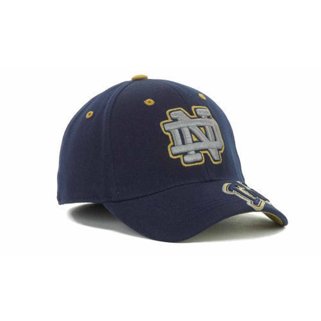 """Notre Dame Fighting Irish NCAA TOW """"Downshift"""" Stretch Fitted Hat"""