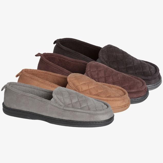James Fiallo Men's Suede Loafer Slipper