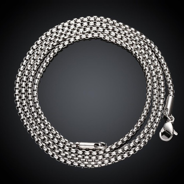 Thick Stainless Steel Cut Chain 24 inches