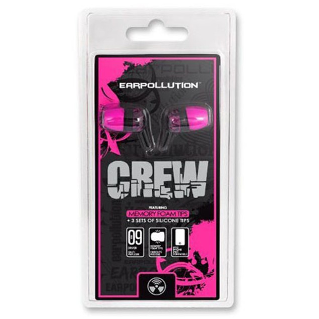 2-Pack: iFrogz EPCG EarPollution Crew Graffiti Bud