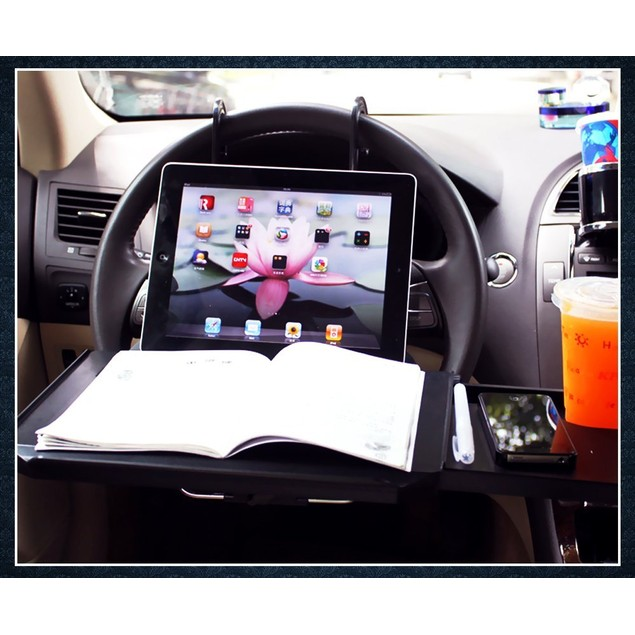 Zone Tech Multi-Functional Portable Car Seat Tray Desk Table