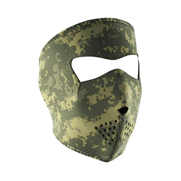Digital ACU Camouflage Graphical Neoprene Full Face Mask