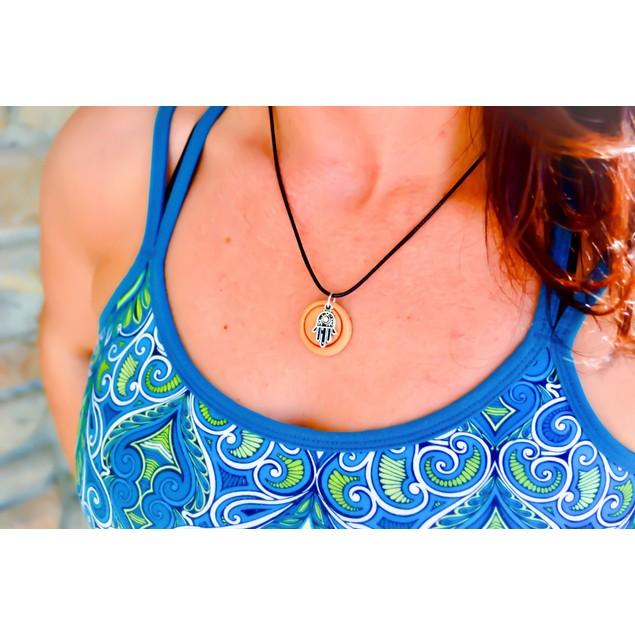 Zen TerraCotta Essential Oil Diffuser Necklace