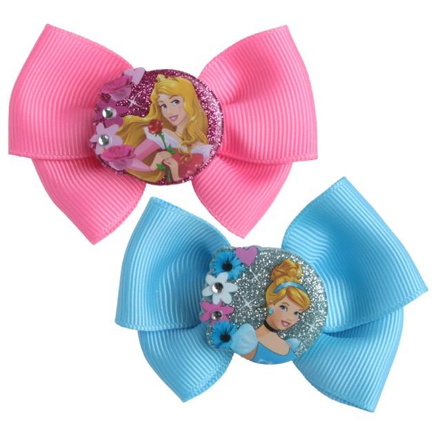 Disney Princesses 2 Piece Salon Clips