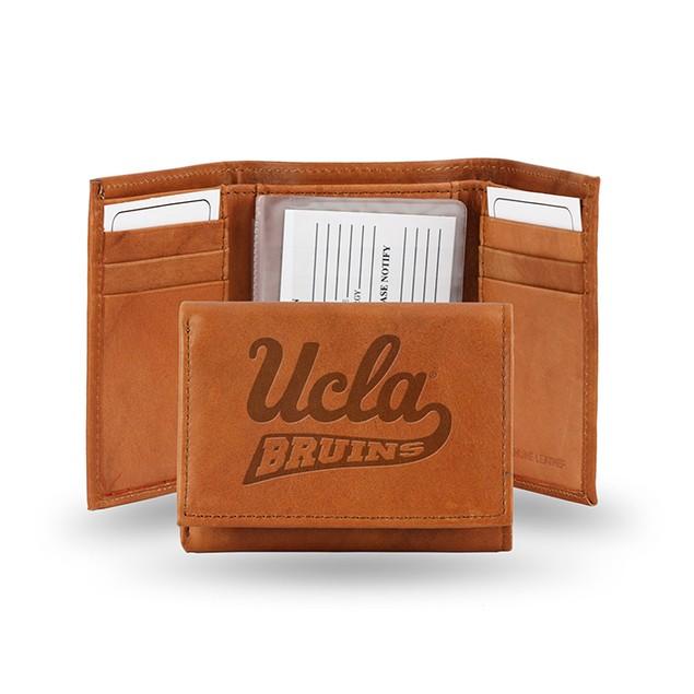 UCLA Leather Manmade Trifold