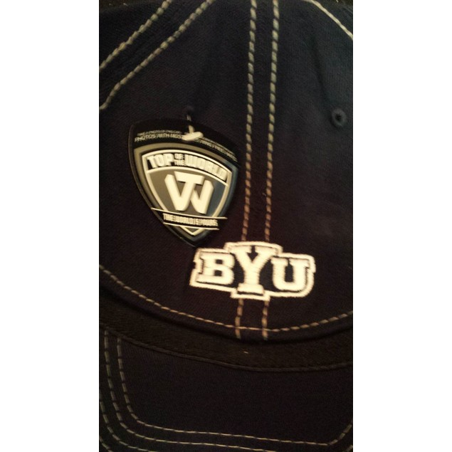 """Brigham Young Cougars NCAA TOW """"Haymaker"""" Stretch Fitted Hat"""