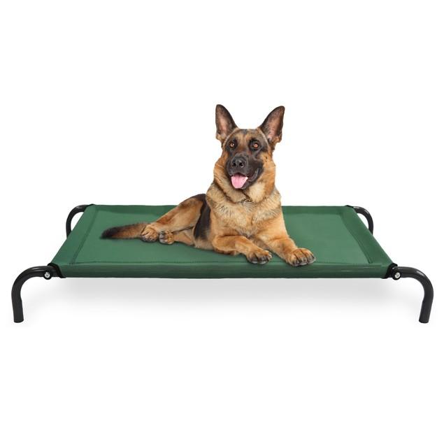 Elevated Steel Frame Pet Cot Bed