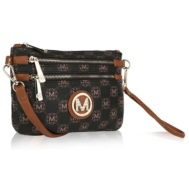 MKF Collection Marie M Signature Cross Body Wristlet by Mia K. Farrow