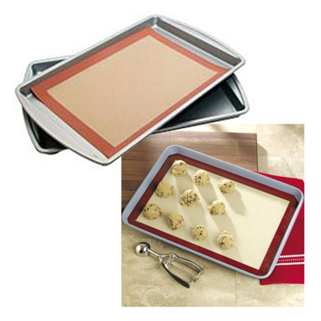 2-Pack: Le Chef Silicone Baking Mats