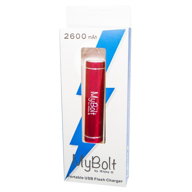 3-Pack MyBolt 2600 mAh Powerbank Charger
