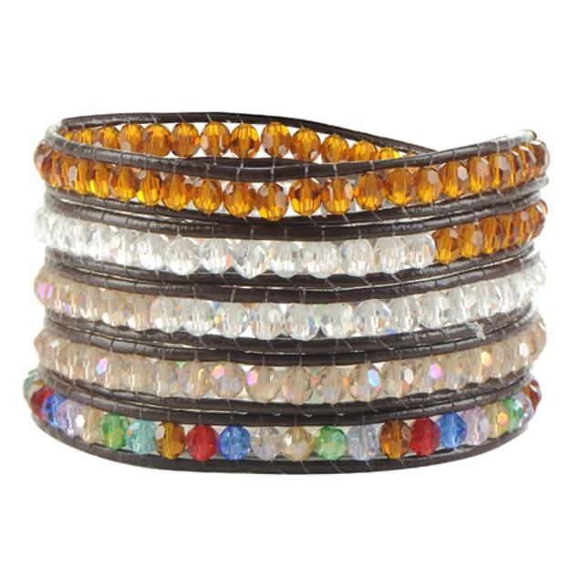 Rainbow Desert Wrap Bracelet