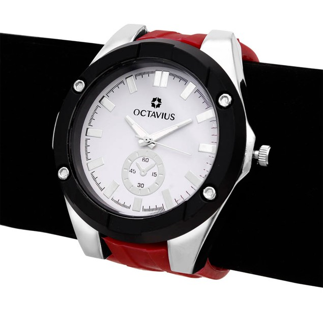 Octavius The Hank Watch - Red