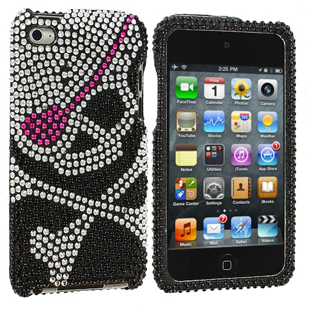 Apple iPod Touch 4th Generation Diamond Rhinestone Bling Case Cover