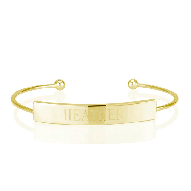 Personalized Bar Bangle with Free Gift!
