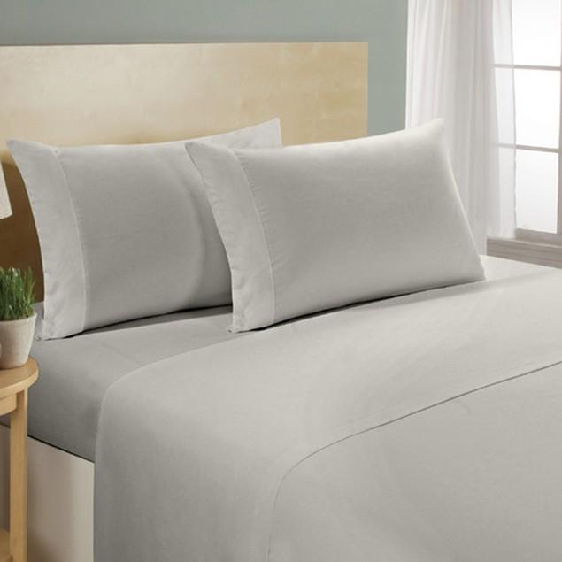 4-Piece Luxurious Super Soft 300 Thread Count 100% Cotton Sheet Sets