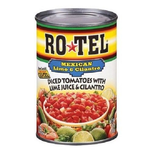 ROTEL MEXICAN DICED TOMATOES WITH LIME JUICE & CILANTRO