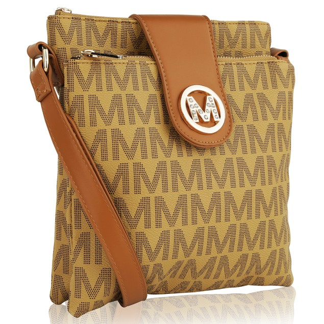 MKF Collection Wrigley M Signature Cross Body  by Mia K. Farrow