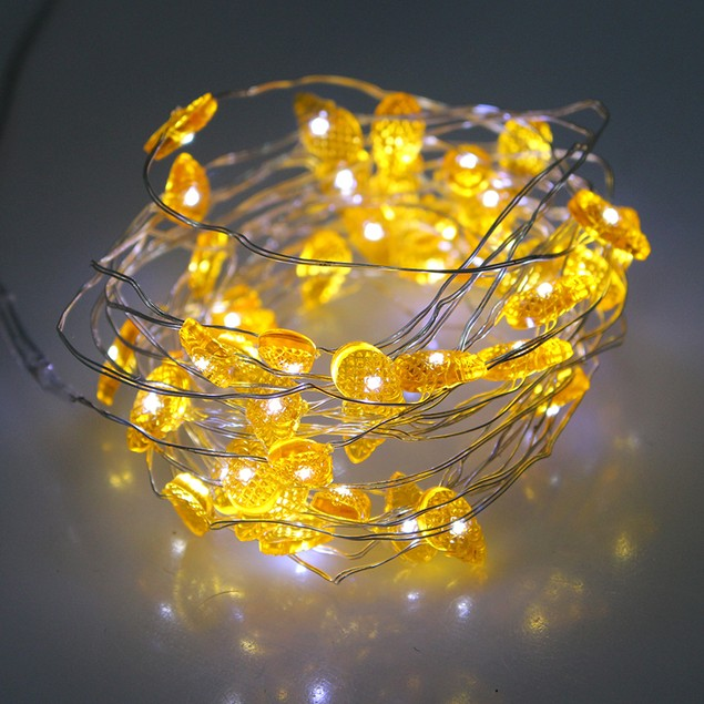 15 Foot Pineapple Design String Lights
