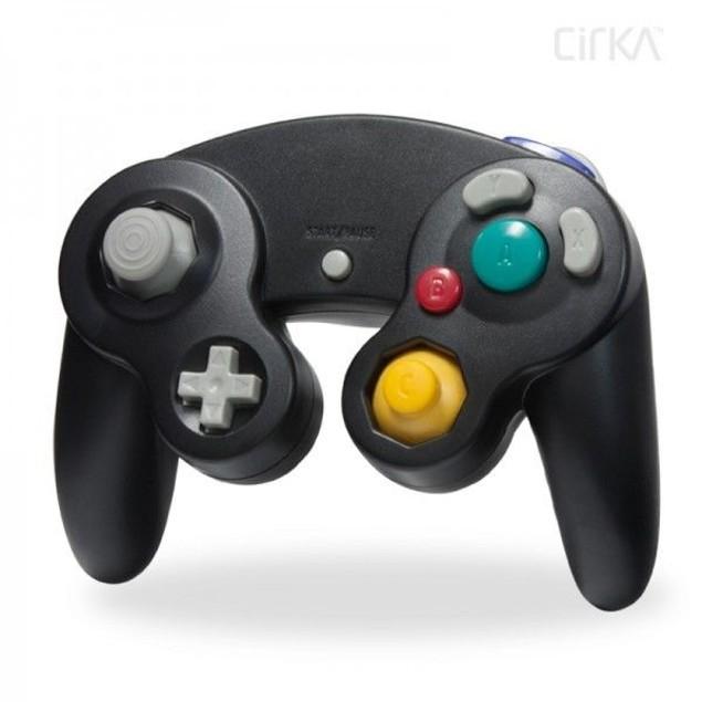 Nintendo Wii/GameCube CirKa controller (Black)