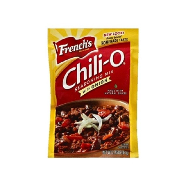 French's Chili-O with Onion Seasoning Mix 3 Packet Pack