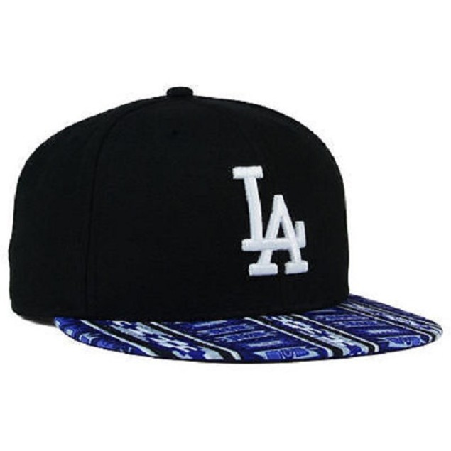 "Los Angeles Dodgers MLB New Era 9Fifty ""A-Tech"" Flat Bill Snapback Hat"