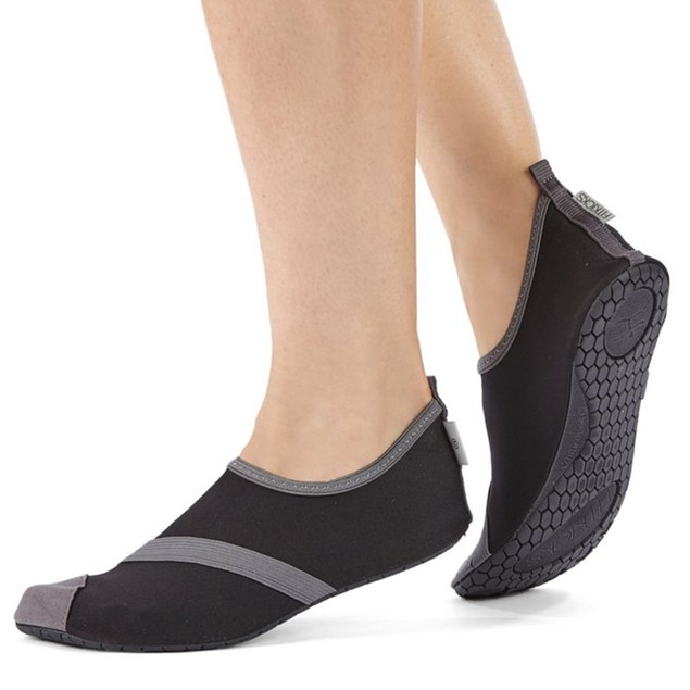 FitKicks Women's Slip On Fold and Go Shoes