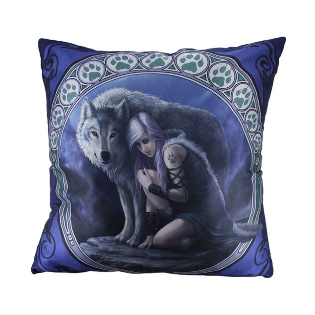 Anne Stokes Protector Fantasy Wolf Throw Pillow 20 Throw Pillows