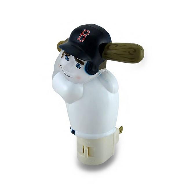 Boston Red Sox Batter Up Mlb Team Night Light Nite Childrens Night Lights