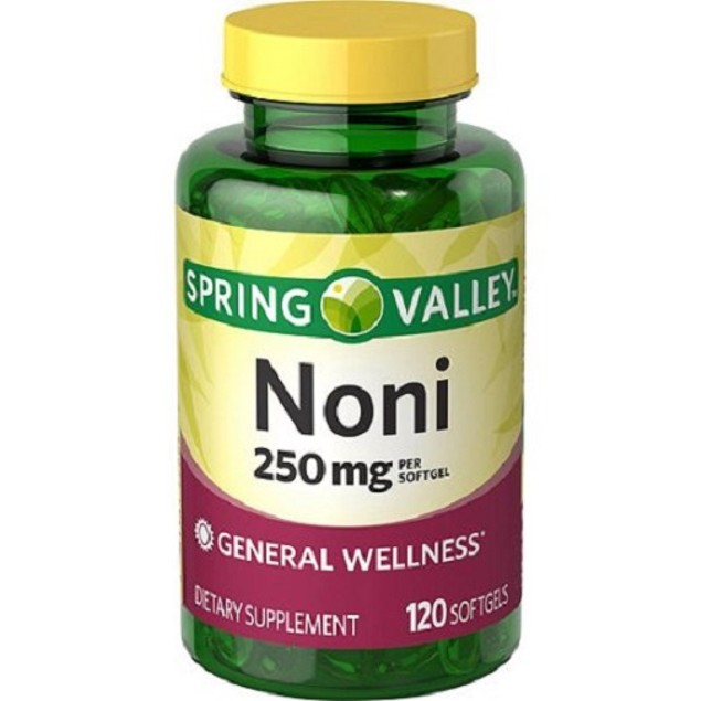 Spring Valley Noni 250 mg Softgels