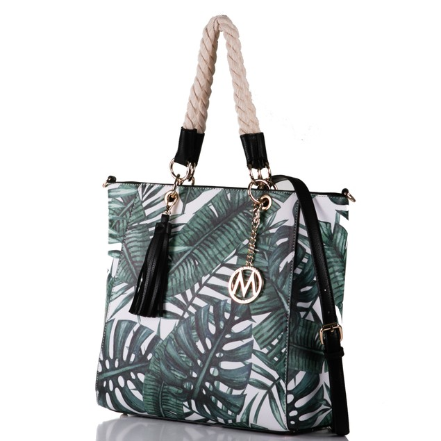 MKF Collection Tammara Tote Bag with Removable Strap by Mia K. Farrow