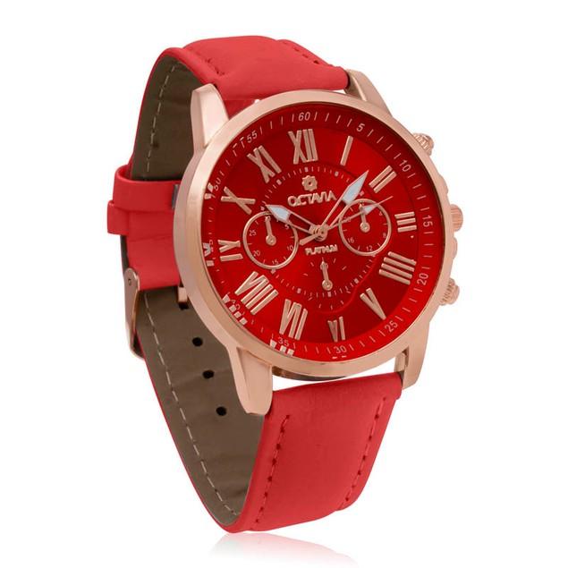 Octavia Toscana Watch - Red