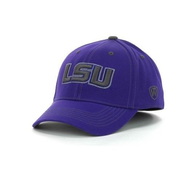 """LSU Tigers NCAA TOW """"Stride"""" Stretch Fitted Hat"""