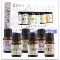 6-Pack Essential Oils 10ml Bottles