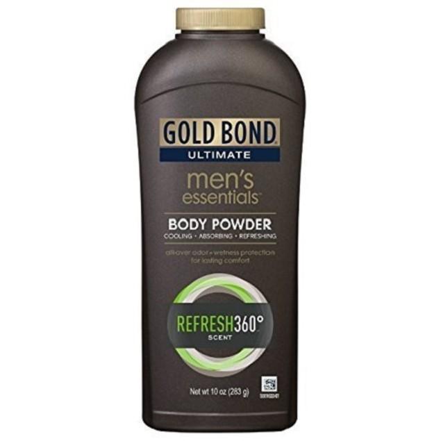 Gold Bond Men's Essentials Body Powder Refresh