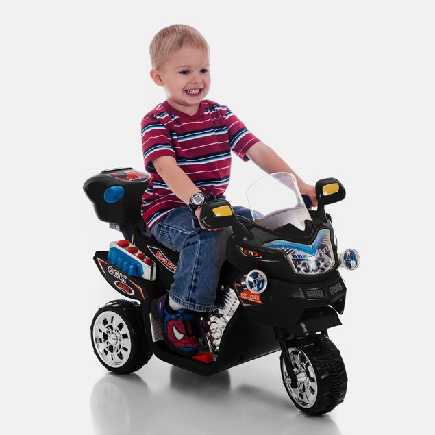 Lil' Rider FX 3 Wheel Battery Powered Bike - Black