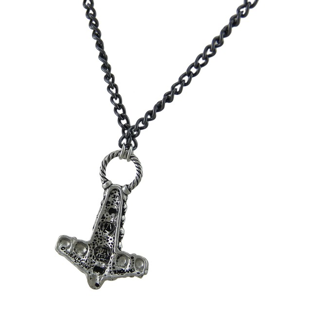 Alchemy Gothic Skullhammer Thor's Hammer Pendant Pendant Necklaces