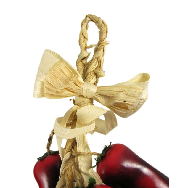 Decorative Red Chili Pepper Braid Kitchen Decor Decorative Fruit And Balls