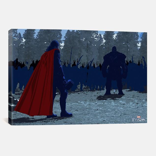 Marvel Comics Movie: The Dark World - Battle Thor