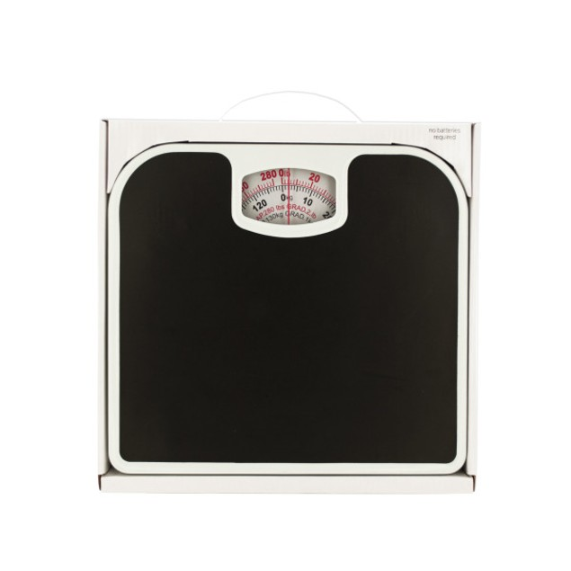 Mechanical Bathroom Scale With Non-skid Surface