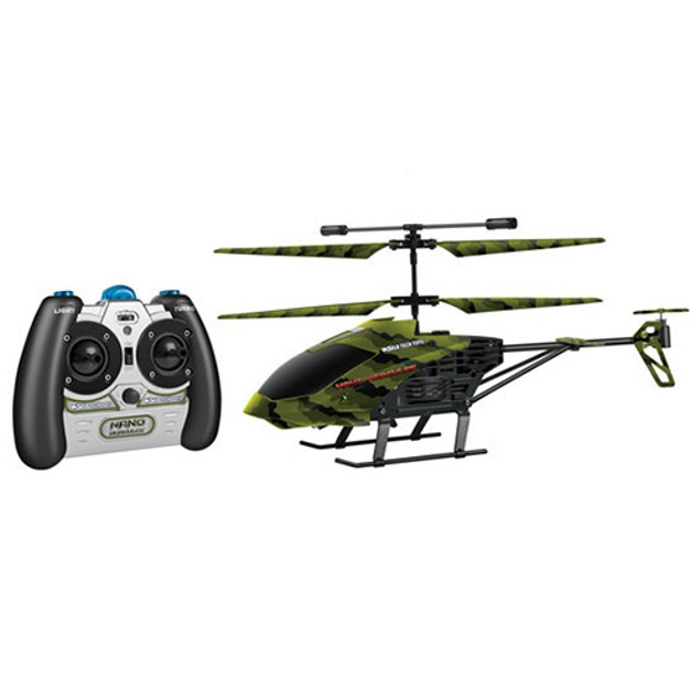 3.5 Ch Camo Nano Hercules IR UNBREAKABLE Gyro Helicopter