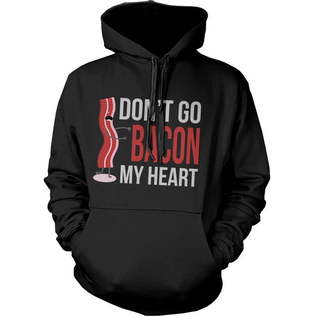 Funny Bacon and Egg Couple Hoodies Funny Matching Outfit for Couples