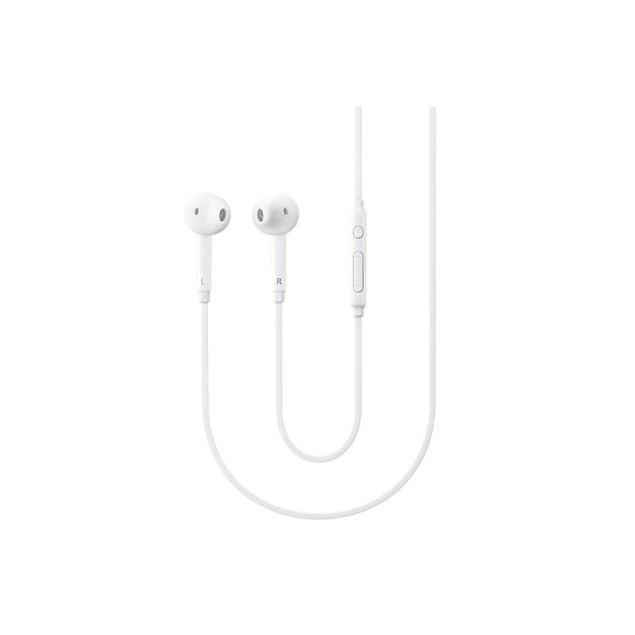 Samsung Earbuds Stereo Headset Wired 3.5mm With Remote and Mic-White