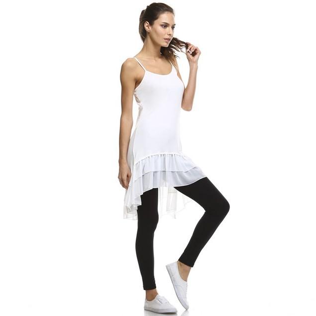 High-Low Chiffon Dress/Skirt/Shirt Extender - 2 Colors