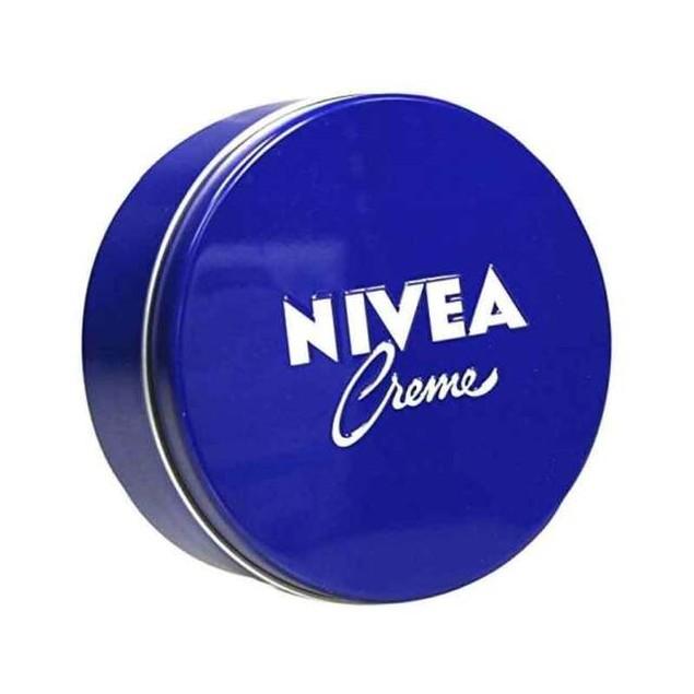 Authentic German NIVEA Creme Cream Metal Tin 7oz
