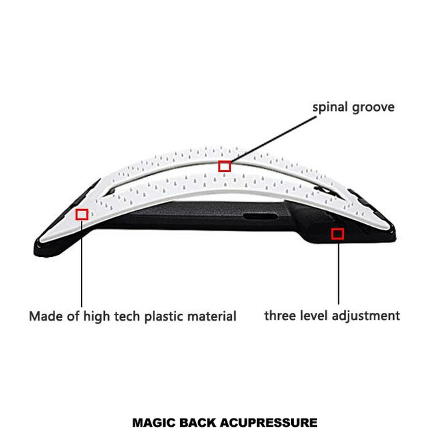 Magic Back Adjustable Stretching Device